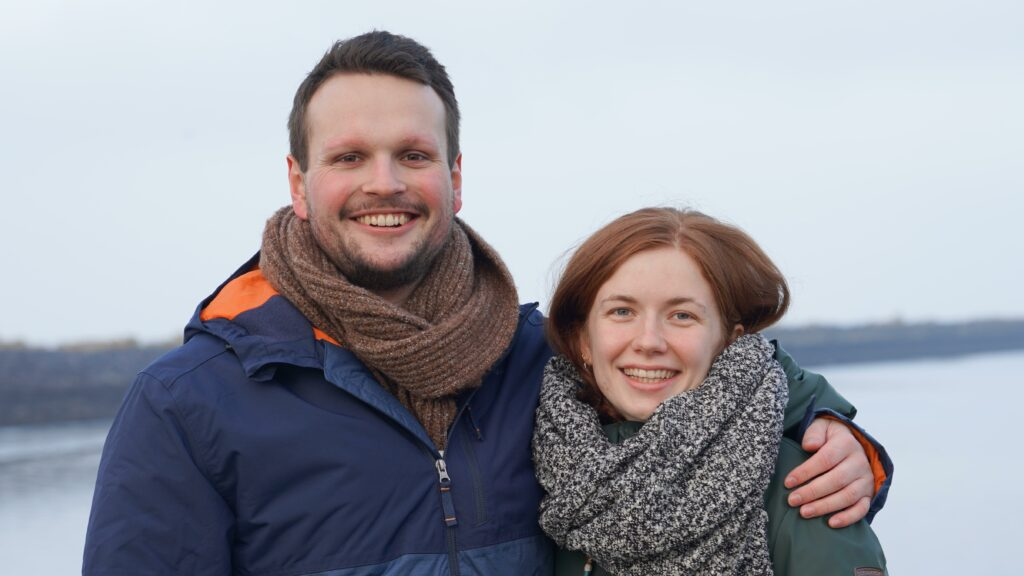 Foto Lasse und Judith Eggers